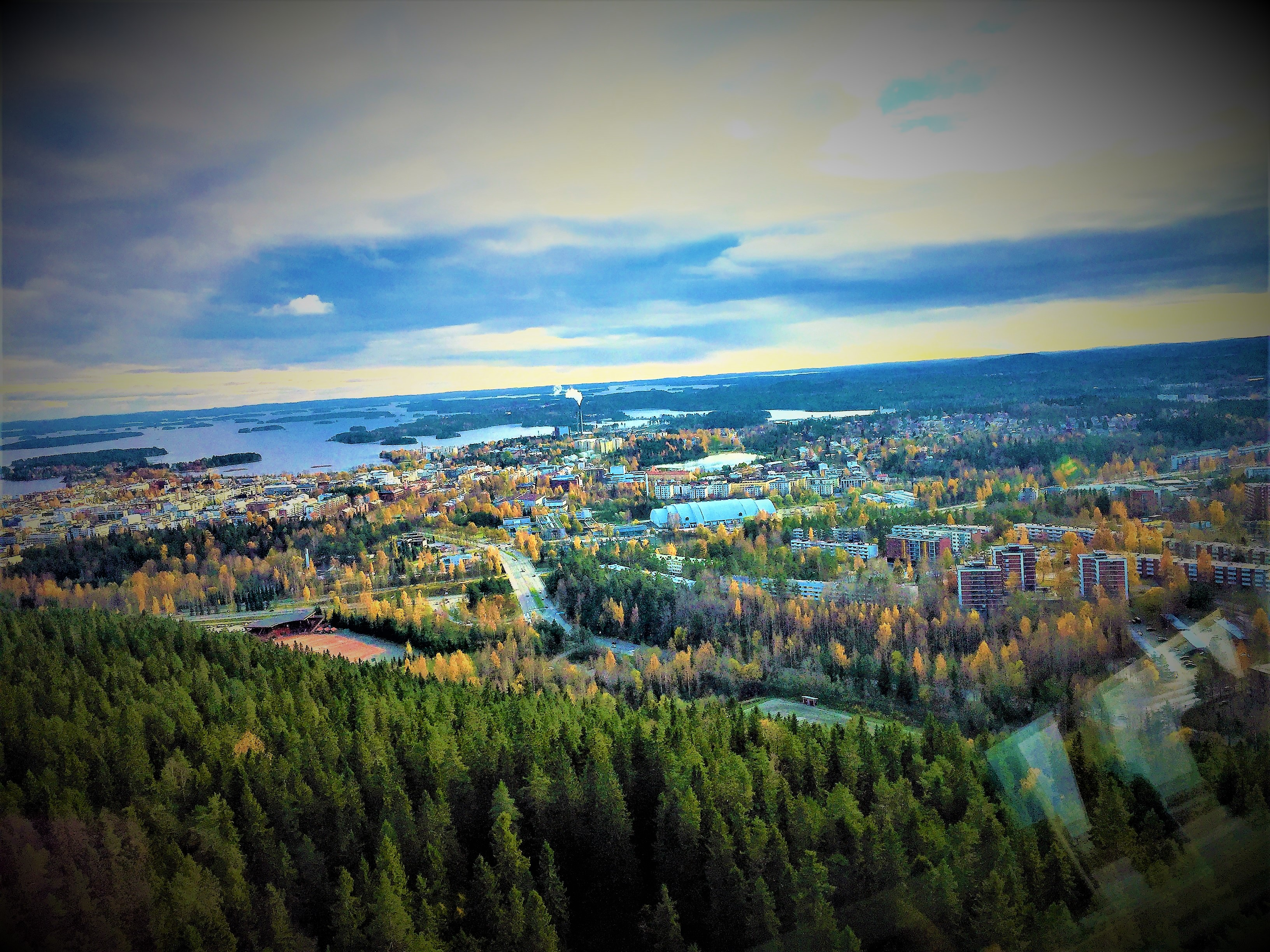 Budget travel to Kuopio City with small kids