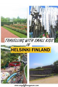 Travelling with small kids in Helsinki Finland