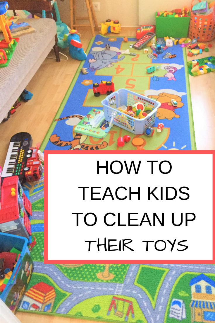 Teaching Our Kids to Clean Their Toy Mess