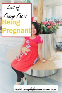 List of Funny Facts Being Pregnant