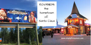 Rovaniemi the hometown of Santa Claus