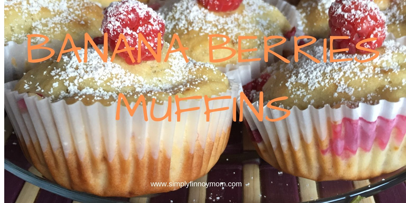 Banana Berries Muffins is Quick and Easy