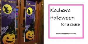 Kauhava Halloween event for a cause