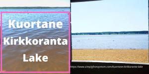 Kuortane Kirkkoranta Lake