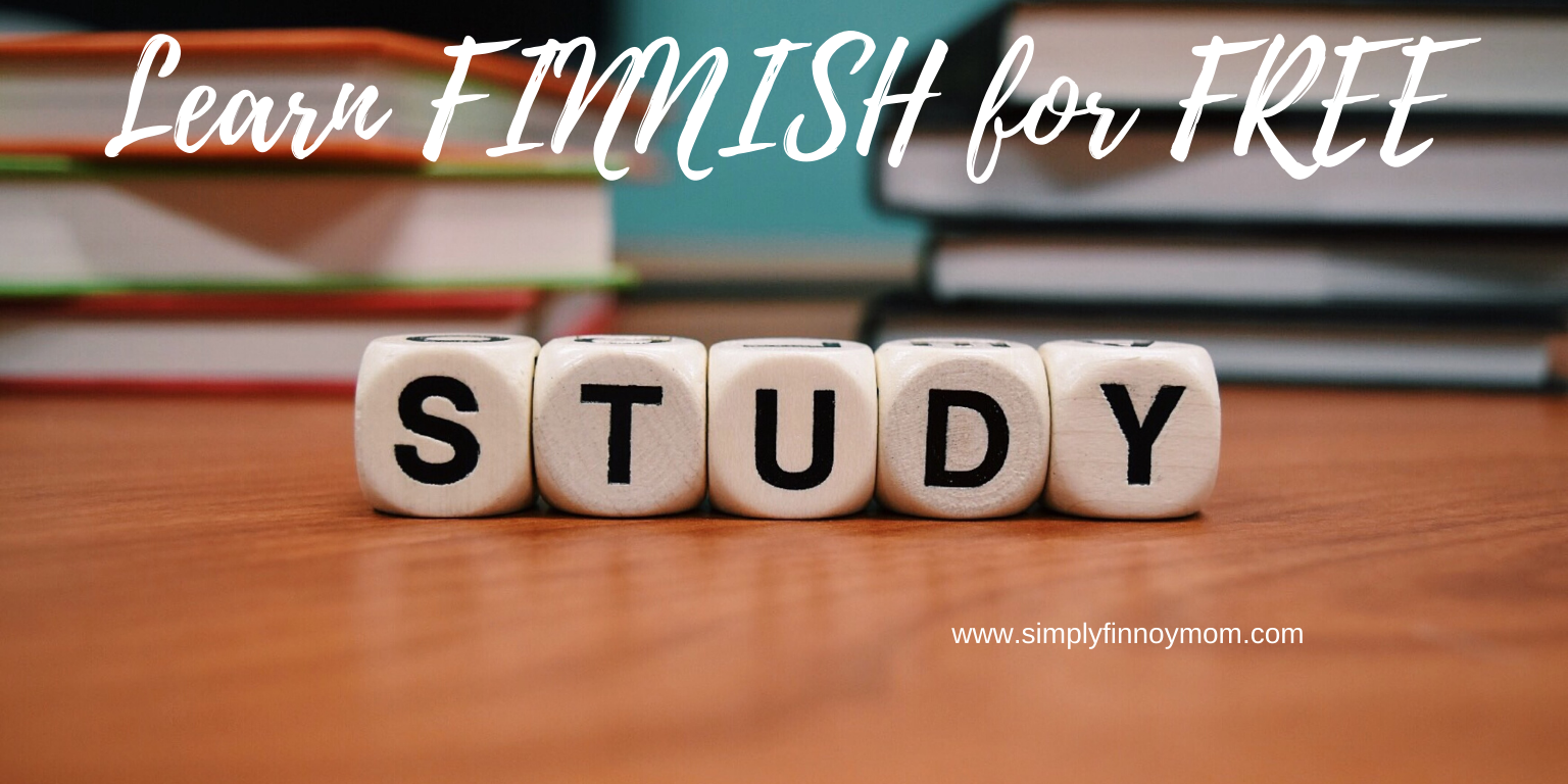 Want to learn Finnish for free?