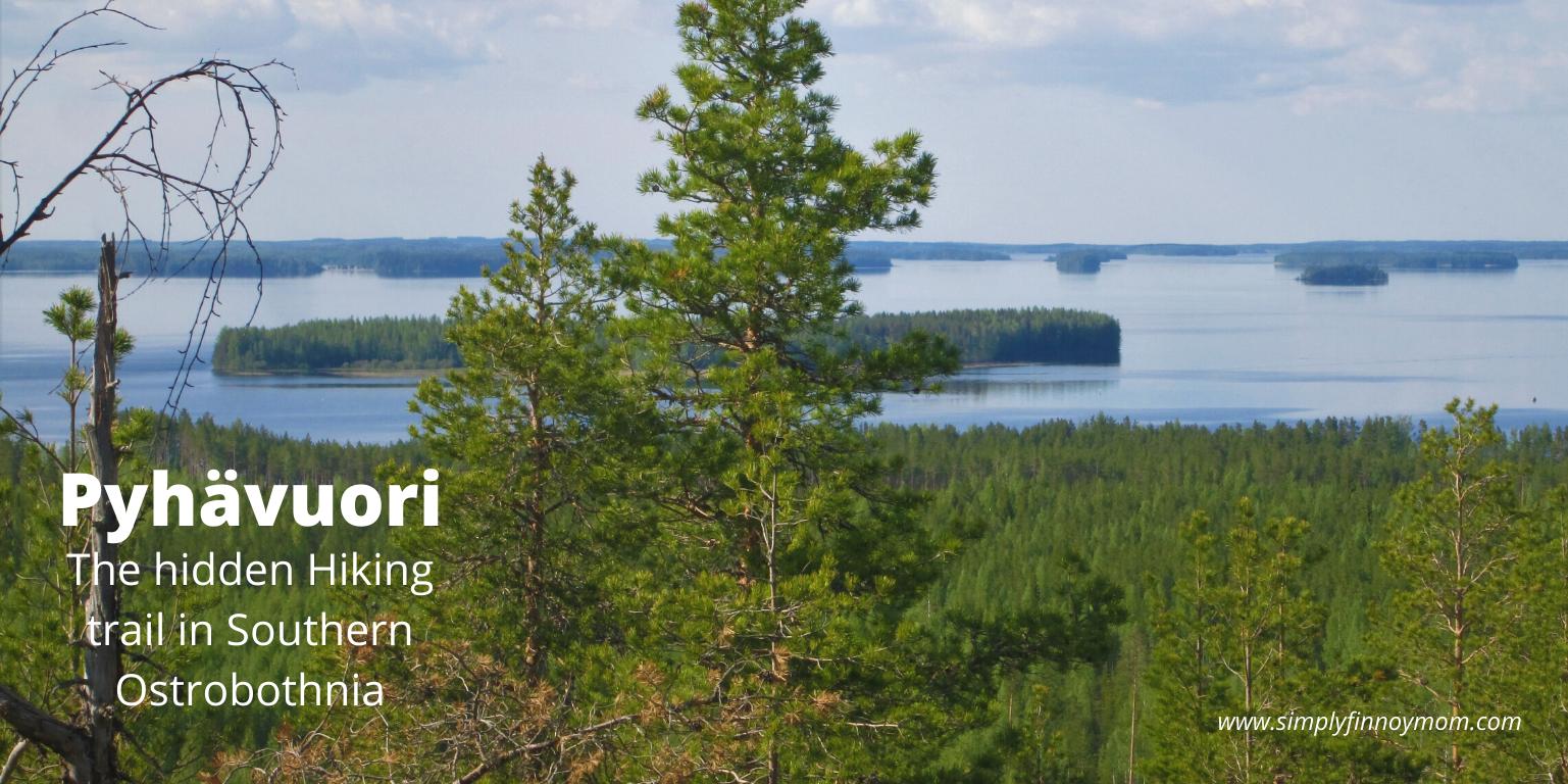 Pyhävuori Hiking trail in Finland