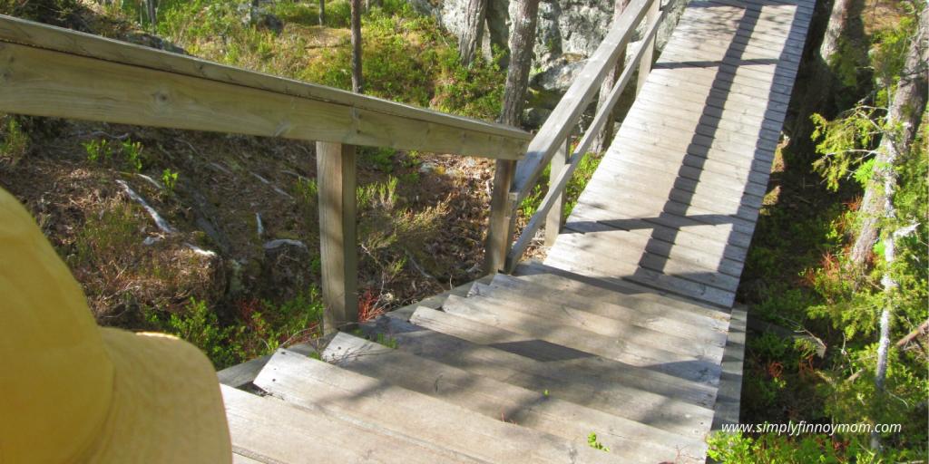 Pyhävuori wooden trail