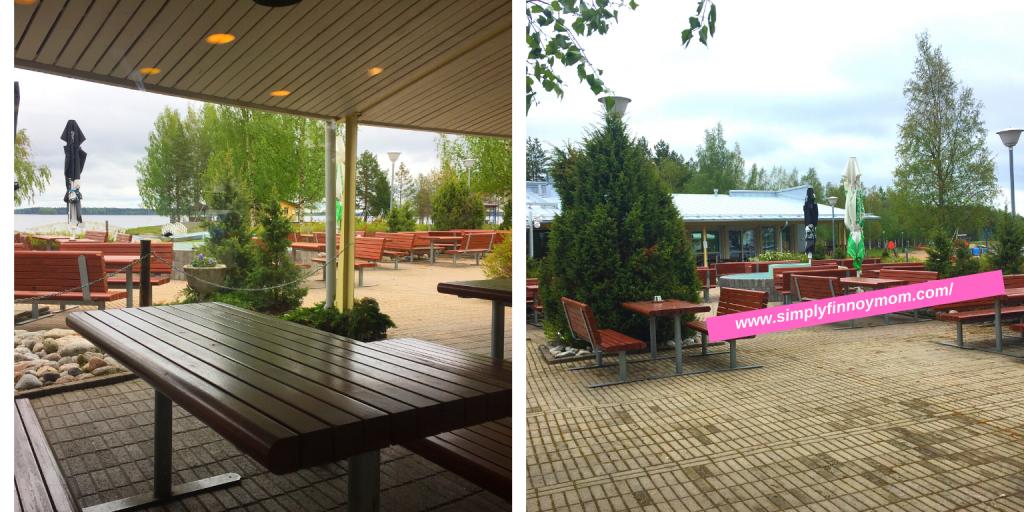Kalajärvi restaurant terrace